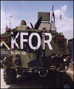 Nato K-force troops