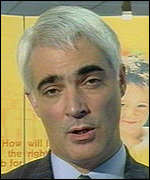 [ image: Social Security Secretary Alistair Darling will decide on the future of benefits for the mentally ill]