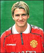 [ image: David Beckham: Star player]