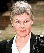 [ image: Dame Judi Dench:  Nominated for National Television Award]