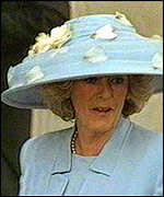[ image: Camilla Parker Bowles: Arrived 20 minutes before Prince Charles]