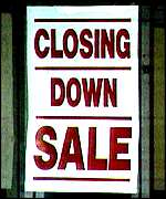 [ image: Shops close as population plummets]