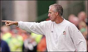 Republic of Ireland coach Mick McCarthy