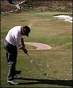 [ image: Lee Westwood: A horrendous time on the 14th]