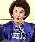 [ image: Edwina Currie alerted the public about salmonella risk]