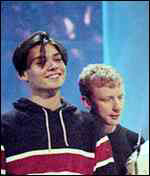 [ image: Alex James and Dave Rowntree of Blur]