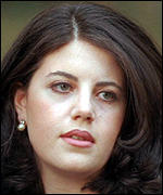 [ image: Monica Lewinsky: Perhaps the president really forget]