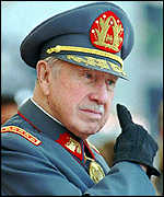[ image: General Augusto Pinochet: The UK's High Court upheld his claim to diplomatic immunity]