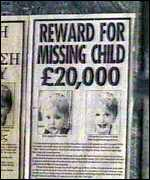 [ image: Ben has been missing since 1991]