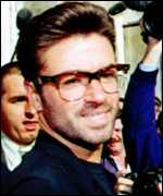 [ image: Fellow chart-topper George Michael: