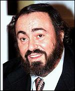 [ image: Luciano Pavarotti: Set for first Middle East concert]