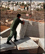 [ image: Jewish settlements are being fortified]