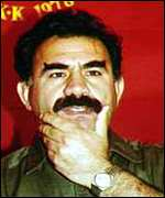 [ image: Abdullah Ocalan: under house arrest]
