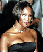 [ image: Naomi Campbell: Ranked 65th by Playboy readers]