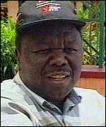 [ image: Morgan Tsvangirai: Talked of as new president]