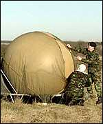 army weather balloon