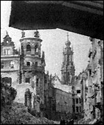 [ image: Dresden's Frauenkirche was destroyed in the bombing raids]