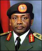 [ image: Under General Abacha Nigeria was an international pariah]
