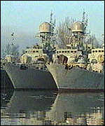 [ image: Home of Russia's Baltic fleet]