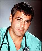 [ image: George Clooney in his ER days: Now has a gap in his schedule]