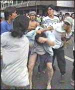 [ image: Ethnic Chinese targetted by mob violence]