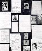 [ image: Audrey Hepburn's letters and photographs: Sold by step-mother Fidelma Hepburn-Ruston]