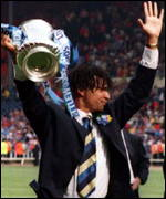 [ image: A year after winning the FA Cup, Ruud Gullit left Chelsea]