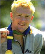 [ image: Triple gold medallist Iwan Thomas came third in the BBC's poll]