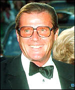 [ image: Roger Moore: Close friend]