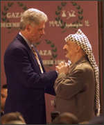 [ image: Bill Clinton and Yasser Arafat - stalemate not resolved]