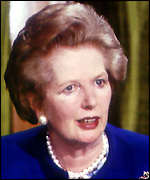 [ image: Margaret Thatcher vowed to track down the perpetrators]