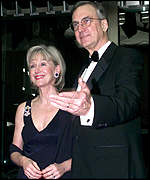 [ image: Bob Livingston and wife Bonnie at a gala two weeks ago]