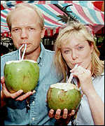 [ image: Conservative Party leader William Hague and his wife Ffion at the Notting Hill Carnival in 1997]