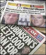 [ image: Mr Mandelson was lent �373,000]