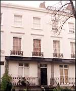 [ image: Loan was used to buy house in exclusive Notting Hill Gate]