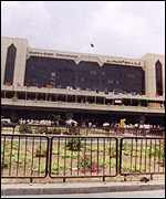 [ image: Karachi airport is the latest battle line between Sharif and Bhutto]