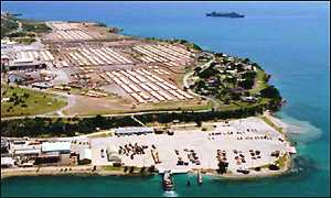 US naval base in Guantanamo