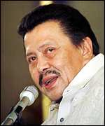 [ image: President Estrada: Rejected appeals to commute sentence]