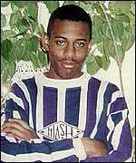 [ image: Stephen Lawrence: Stabbed to death in 1993]