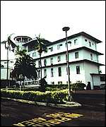[ image: State House in Freetown: Symbol of control]