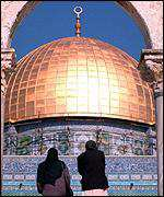 [ image: Al Aqsa mosque - a target for millennialists]