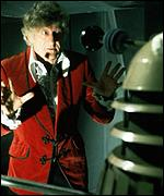 [ image: John Pertwee as Dr Who in The Day of the Daleks]