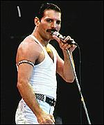 [ image: Freddie Mercury is in the running for a place on a Royal Mail stamp]