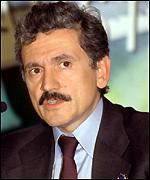 [ image: Massimo D'Alema: Appeals for calm]