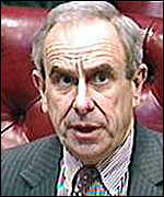 [ image: Lord Hoffman: Links with Amnesty International led to overturning of original verdict]