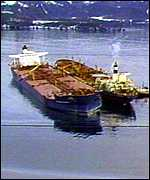 [ image: The Exxon Valdez: In the wrong place ?]
