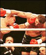 [ image: Francois Botha (right) against Axel Schulz]