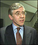 [ image: JacK Straw is accused of not taking the Jenkins Report seriously]