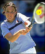 [ image: Lindsay Davenport: Spanish test for women's top seed]