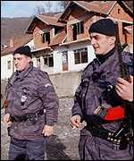 [ image: Serb forces: Fears for 'widespread fighting']